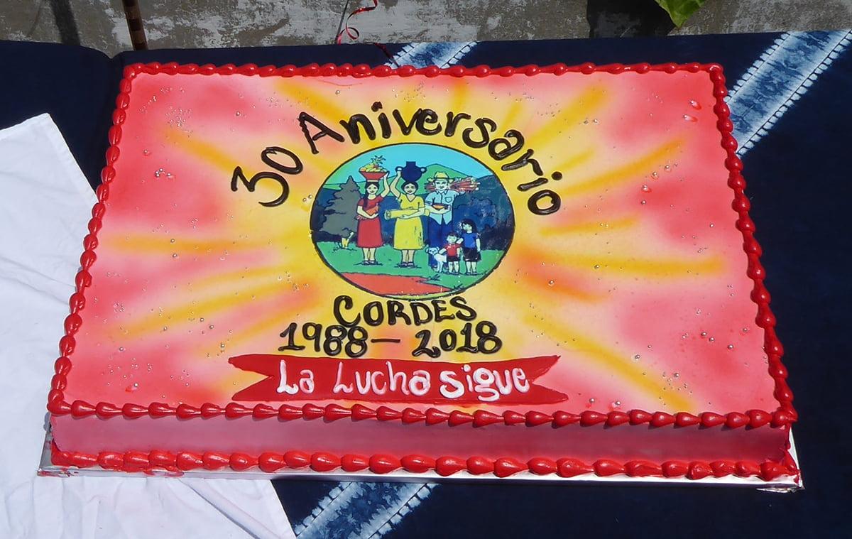 30 aniversario Cordes El Salvador